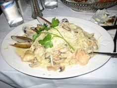 Fisherman's Pasta from John's Grill
