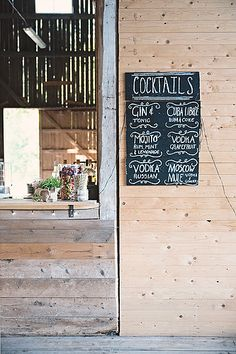 The Barn Bar Wedding Ideas Inspo