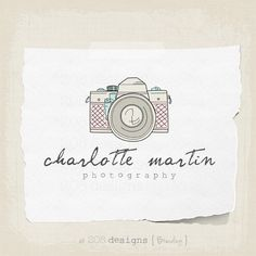Premade Logo and Watermark  Photography  by 208DesignsBranding, $25.00 Watermark Photography, Photography Ideas, Watermark Ideas, Place Card Holders, Branding, Logo, Unique Jewelry, Handmade Gifts, Vintage