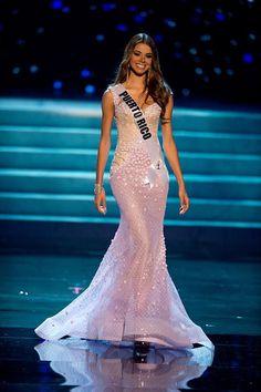 Miss Puerto Rico is GB's Best in Evening Gown U12
