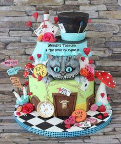 Alice in Wonderland - Cake by Wendy Schlagwein - CakesDecor