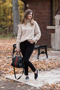 The Cable-Knit Turtleneck Sweater