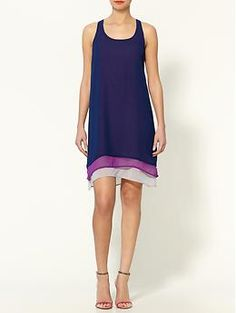 Tinley Road Colorblocked Layers Dress | Piperlime