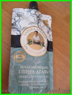 Zebra Testuje: Rosyjska biała glinka Łaznia Agafi