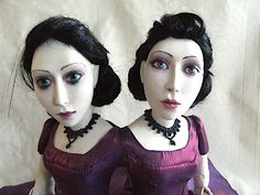 OOAK  Conjoined twin doll by CuriousBoudoirDolls on Etsy