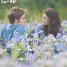 ~ I remember the day I saw this movie too. I saw it with my cousin while my little sister went to see Toy Story 3 with my mom and uncle. {#twilightsaga#eclipse#bellaswan#edwardcullen#twifact46}
