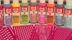 This video will show you how to stain wood with new Mod Podge sheer colors - and use the new Mod Podge Rocks stencils!