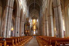Wnętrze Katedry w Uppsali