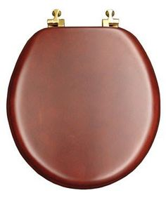 wooden square toilet seat. Mayfair 9602BR 178 Natural Reflections Wood Veneer Toilet Seat with Brass  Hinges Round Cherry Rustic Brownish Grey Reclaimed design