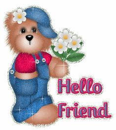 Friendship Flower Graphics and GIF Animation for Faceboook Friendship Flowers, Friend Friendship, Good Morning Greetings, Good Morning Wishes, Special Friend Quotes, Hello Nails, Hello Quotes, Hello Goodbye, Cute Teddy Bears