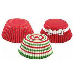Christmas Circles Standard Baking Cups $3.00
