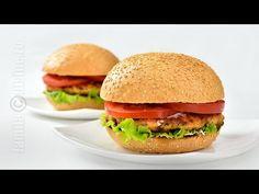 Burger de somon - reteta video | JamilaCuisine