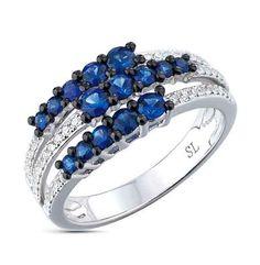 blue jewelry geometry