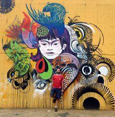 medellin graffiti  STILACHO