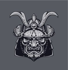 samurai helmet vector - Google Search