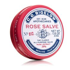 C.O. BIGELOW ROSE SALVE this is by far my favorite chap stick its the perfect blend between a chap stick and a lip gloss perfect for anytime during the day!