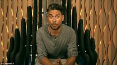 Low-point: Relations between the Celebrity Big Brother housemates soured even further on Monday's episode of the reality TV series, especially for Ricky Norwood