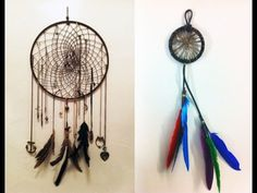 Diy Dreamcatcher | Diy A Dreamcatcher | Diy Native American Dreamcatcher - YouTube