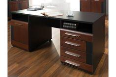 Biurko idealne do każdego gabinetu. Połączenie prostoty i dobrego smaku.