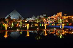 The Palace at the Pyramids Mena House Hotel