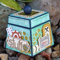 Scrappity Dappity Doo!: Wild Card Treasure Box with BoBunny