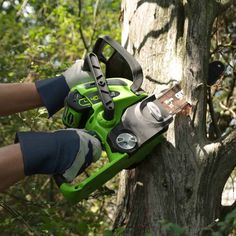 Greenworks Cordless Chainsaw, Battery Not Included 20292 Top Handle Chainsaw, Best Chainsaw, Battery Powered Chainsaw, Cordless Chainsaw, Electric Chainsaw, Landscaping Tools, Shoe Tree, Drill Driver, Router Bits