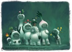 Making Friends by imaginism's Bobby Chui ★ Find more at http://www.pinterest.com/competing/