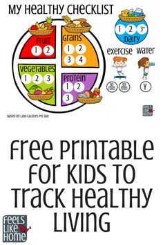 This free printable food tracker teaches kids healthy eating and healthy living . - This free printable food tracker teaches kids healthy eating and healthy living . Jody Club Jodyclub diy This free printable Food Chart For Kids, Food Charts, Charts For Kids, Healthy Eating For Kids, Healthy Eating Habits, Healthy Living, Healthy Habits For Kids, Eat Healthy, Healthy Weight