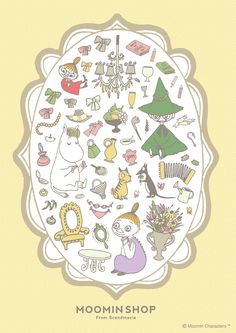 Moomin Valley, Cartoon Photo, Tove Jansson, Little My, Cute Characters, Illustrations And Posters, Pilgrimage, Troll, Decorative Plates