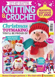 Ravelry: Polar Bear pattern by Sachiyo Ishii Knitting Magazine, Crochet Magazine, Knitting Patterns Free, Free Pattern, Knit Crochet, Crochet Hats, Knitting Books, Shibori, Decoupage