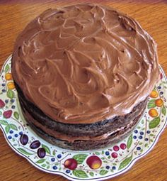 Must try this scratch recipe for chocolate cake and frosting.  Joanne Weir/kqed