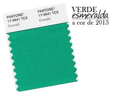 Color of the year! verde esmeralda