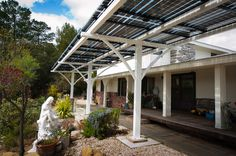 solar patio cover Patio Contemporary with awning carport Lumos LSX