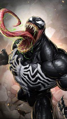 Marvel Avengers Comics, Marvel Comic Universe, Hulk Marvel, Marvel Art, Marvel Heroes, Venom Comics, Marvel Venom, Comic Books Art, Comic Art