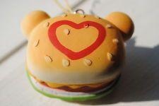 NEW Rilakkuma Hamburger Squishy/ Ketchup Heart