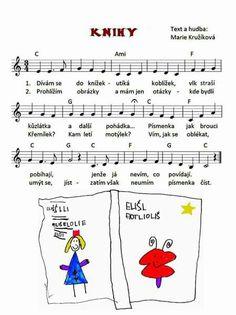 Music Do, Kids Songs, Music Notes, Sheet Music, Alphabet, Kindergarten, Preschool, Learning, Books
