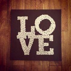Glittered or Blinged Love Art