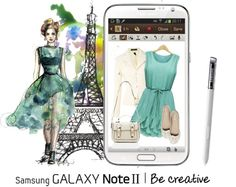 """Create a Downtown Muse look for a chance to win a Samsung GALAXY Note II!"" by roxy75 ❤ liked on Polyvore"