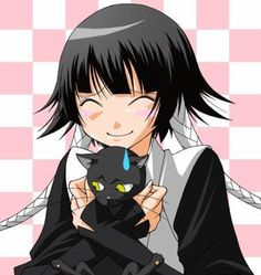 Bleach - Soi Fon  Awwh! that is too cute, Soi Fon loves her Yourichi