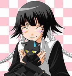 Bleach - Soi Fon  Awwh! that is too cute, Soi Fon loves her Yourichi