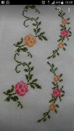 Cross Stitch Boarders, Mini Cross Stitch, Beaded Cross Stitch, Cross Stitch Rose, Cross Stitch Alphabet, Cross Stitch Animals, Cross Stitch Flowers, Cross Stitch Designs, Cross Stitching