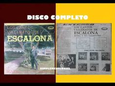LOS CANTOS VALLENATOS DE ESCALONA - Bovea Y Sus Vallenatos, Canta: Alberto Fernandez. - YouTube Youtube, Album, Make It Yourself, Songs, Song Books, Music
