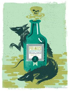 Primus ((Ok, so I'm not a big Primus fan, but I LOVE this poster art!!))))