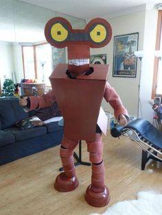 Fantastic 'Futurama' Costume