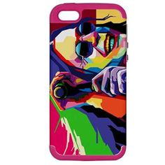 Our iPhone 5 Hardshell cases use the latest (PC+Silicon) Technology to create our designs like this Ozzy Osbourne design, and many more