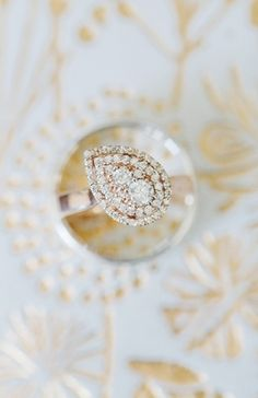 2015's hottest engagement ring styles! Photo by: Larissa Nicole Photography on Bridal Musings