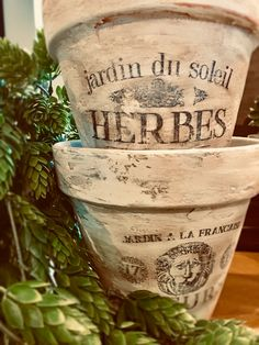 Learn how to create charming DIY French Pots for your home and garden with our step-by-step tutorial and Free Printable Transfer. Garden Crafts, Garden Art, Diy Crafts, Garden Planters, Painted Flower Pots, Painted Pots, Painted Pebbles, Craft Projects, Projects To Try