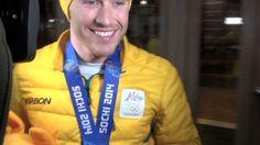 David Morris wins silver in men's Aerials | Sochi 2014