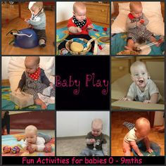 Very Messy Mummy: Tiny Baby Play lots of ideas! Educational Activities For Toddlers, Infant Activities, Activities For Kids, Toddler Play, Baby Play, Baby Kids, Little Babies, Little Ones, Kids Daycare