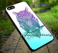 Tattoo Owl Aztec iPhone 6s 6 6s  5c 5s Cases Samsung Galaxy s5 s6 Edge  NOTE 5 4 3 #art DOP7184